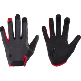 Cube Natural Fit Guantes Dedo Largo, grey'n'red